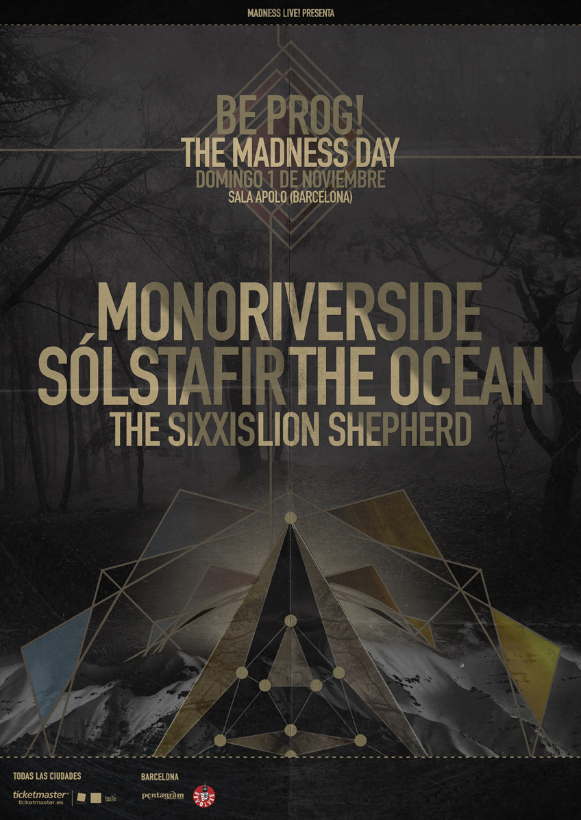 Sólstafir + Mono + Riverside + The Ocean + The Sixxis + Lion Shepherd