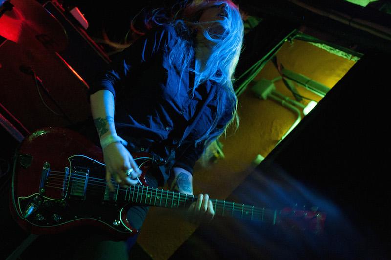 Grave Pleasures en la Sala RockSound de Barcelona, 2015