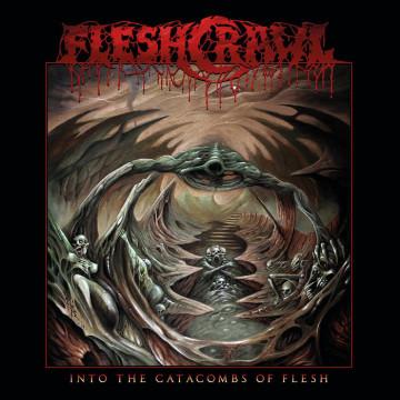 fleshcrawl into the catacombs of flesh