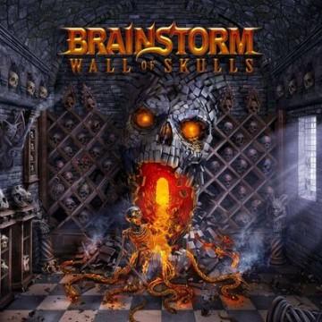 brainstorm wall of skulls